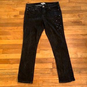 4/$40 - FAITH 21 Embellished Jeans - Size 14 Short